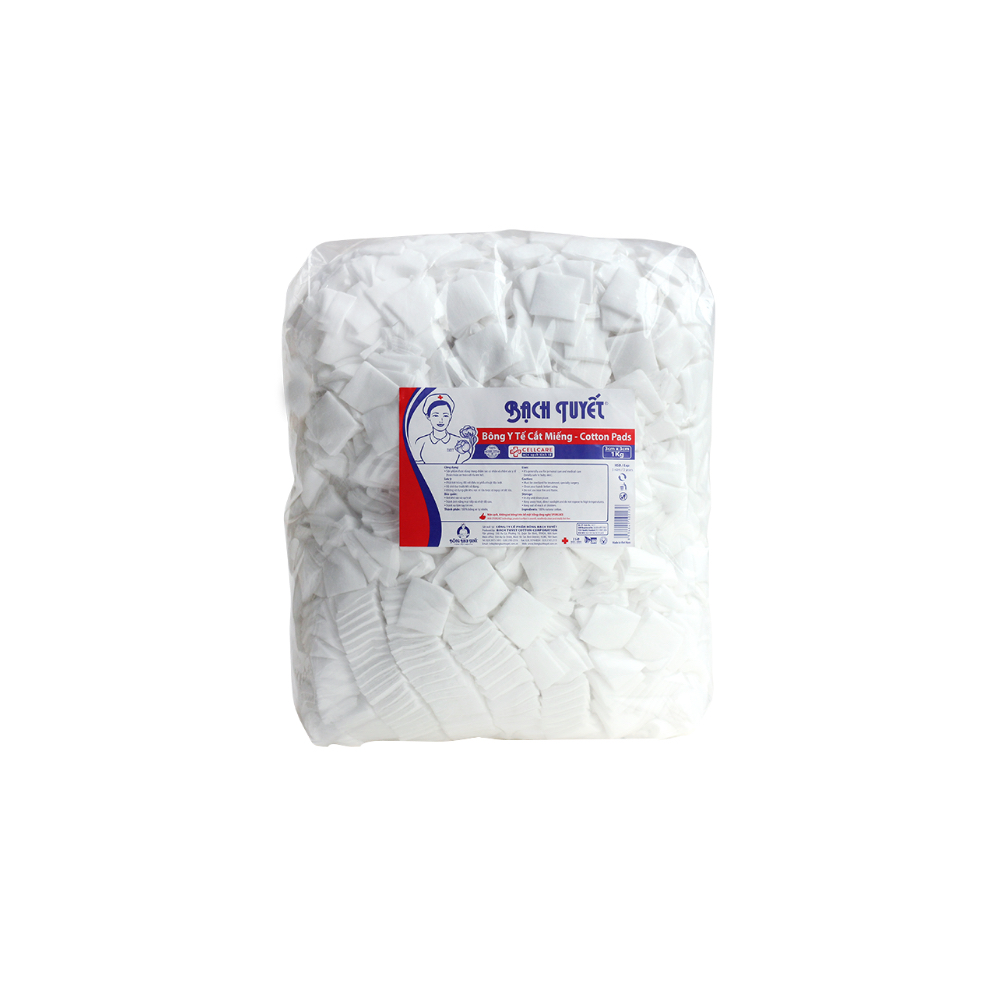 3cm x 3cm absorbent cotton pad