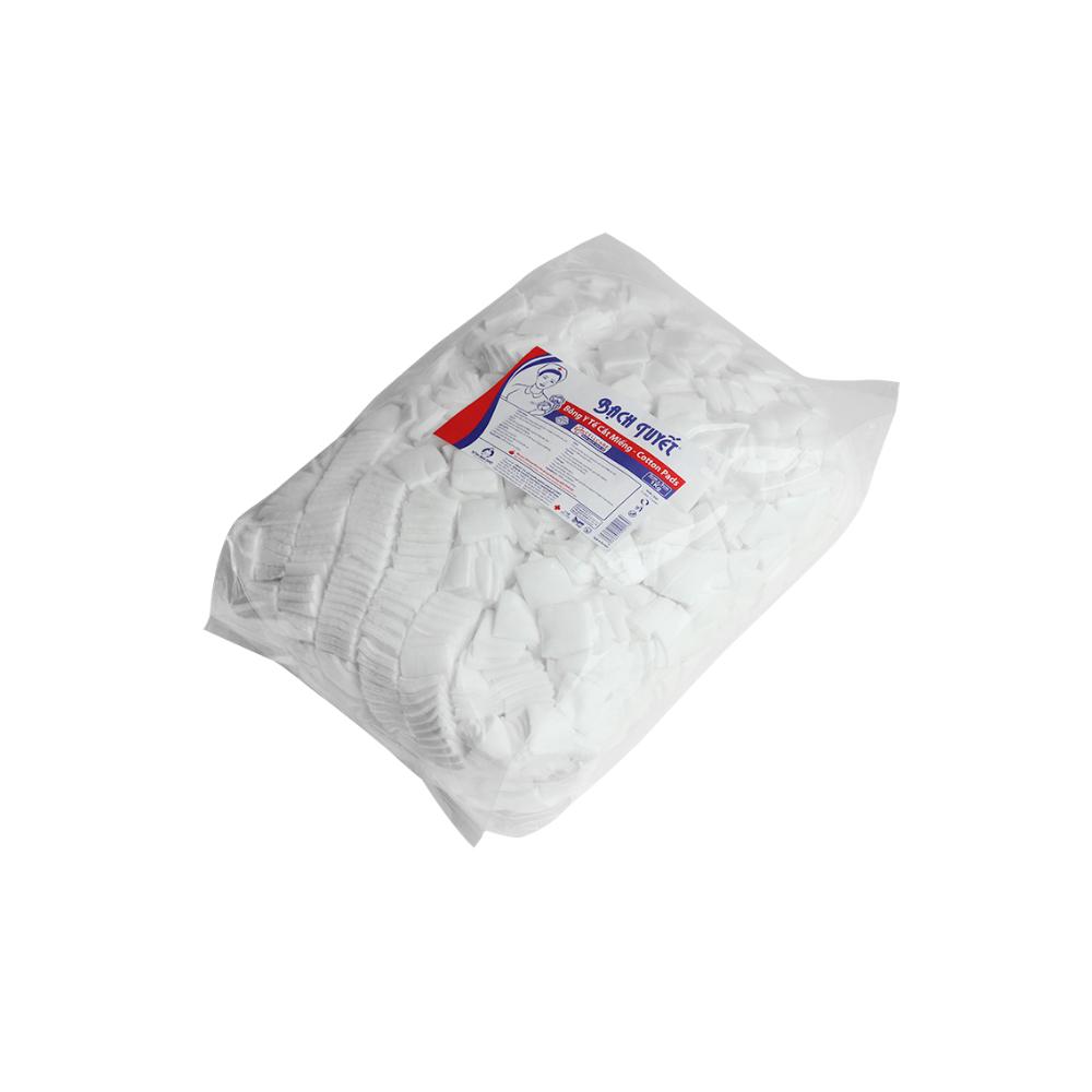 Bông Cắt Miếng Y Tế 3cm x 3cm - Sản Phẩm Y Tế - Bông Bạch Tuyết
