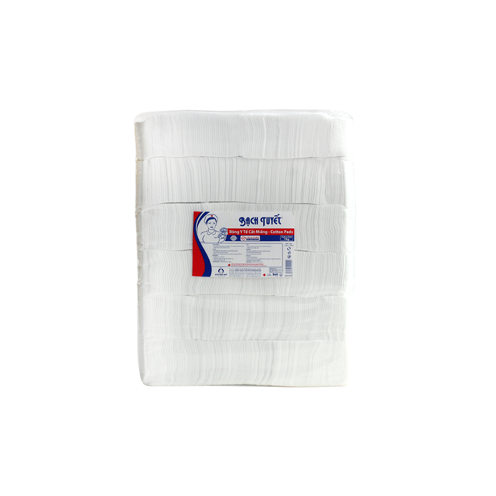 7cm x 7cm absorbent cotton pad