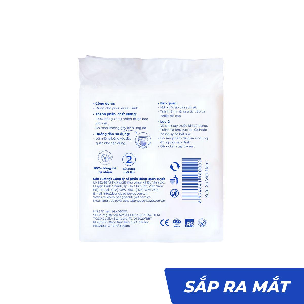 Băng vệ sinh lưới phụ sản - Bông Bạch Tuyết
