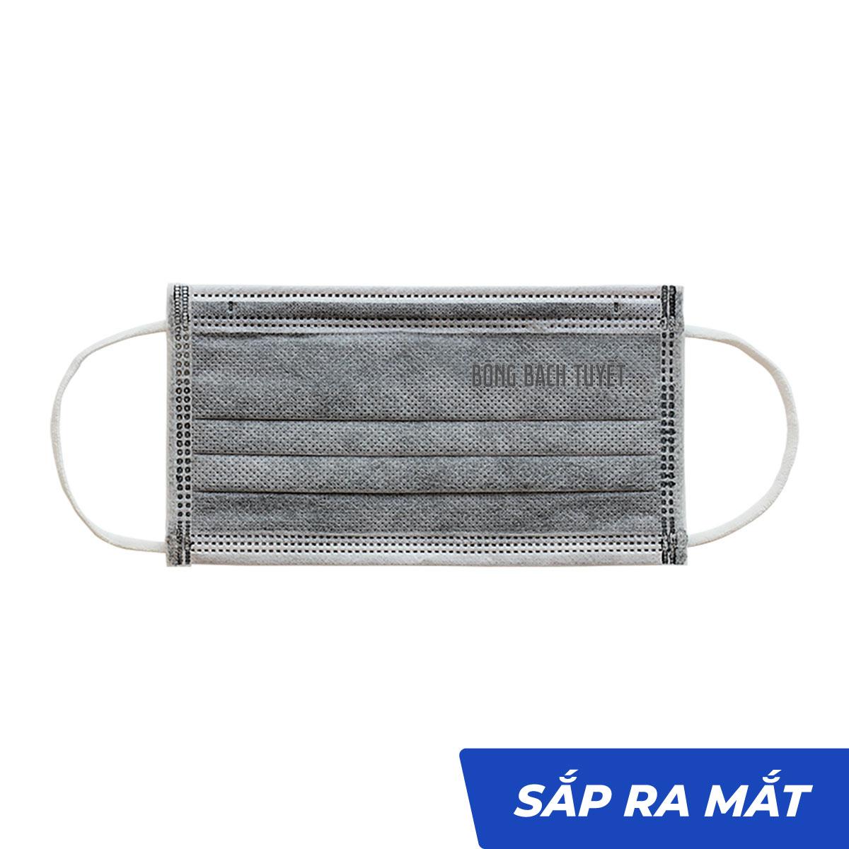 Khẩu trang than hoạt tính 4 lớp 10-50 cái Kotton Care